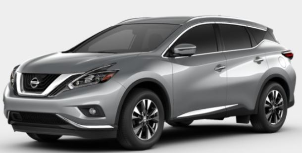 2018 Nissan Murano in Brilliant Silver