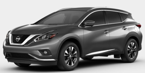 2018 Nissan Murano in Gun Metallic