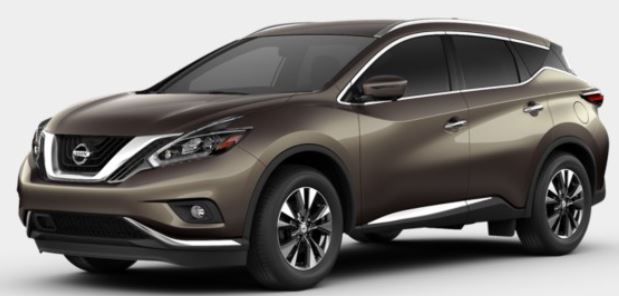 2018 Nissan Murano in Java Metallic