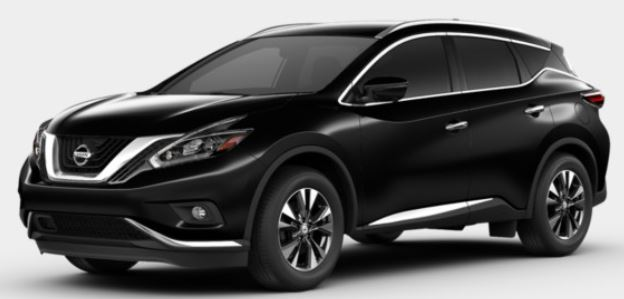 2018 Nissan Murano in Magnetic Black