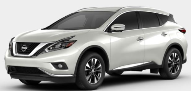 2018 Nissan Murano in Pure White