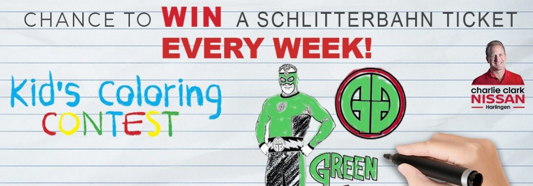 Win Tickets to Schiltterbahn Water Park with this Coloring Contest!