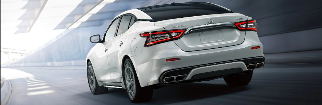 What available technology is offered in the 2020 Nissan Maxima?