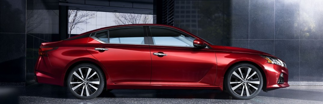 red 2020 nissan altima