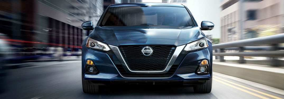 2020 Nissan Altima in blue