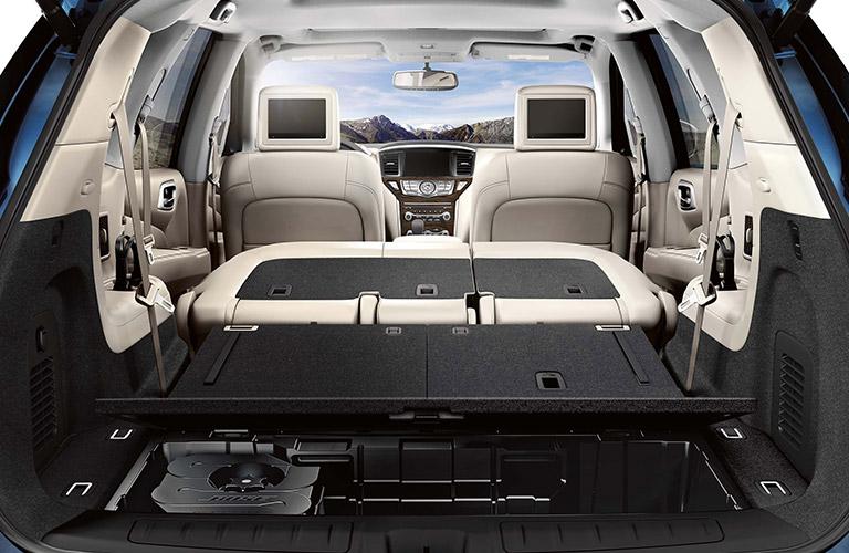 2020 Nissan Pathfinder cargo area