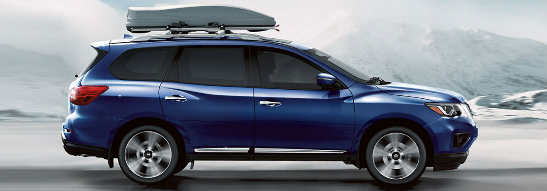How many passengers can the Nissan Pathfinder hold?