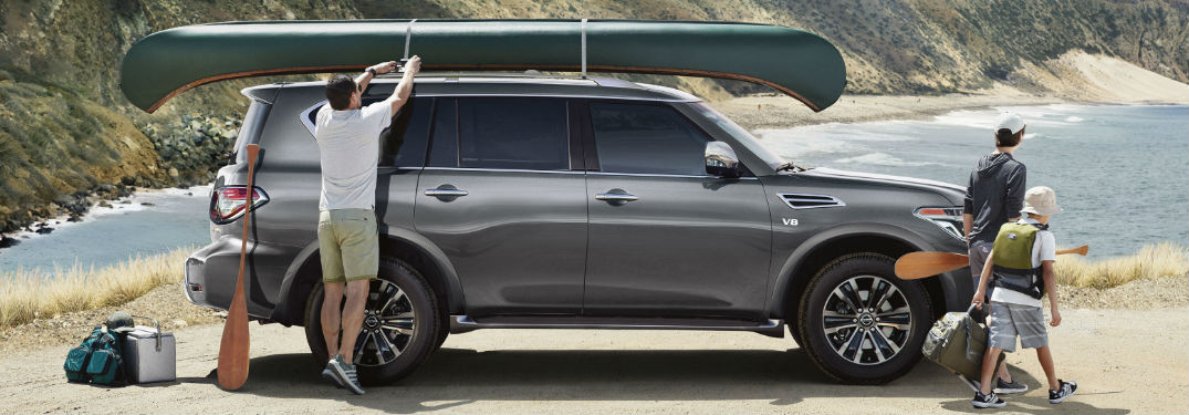 What are the exterior paint color options of the 2020 Nissan Armada?