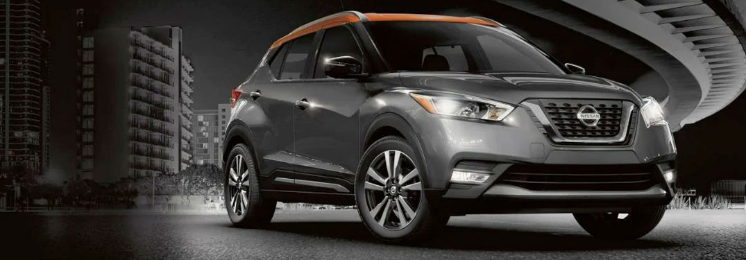 2020 Nissan Kicks front and side profile