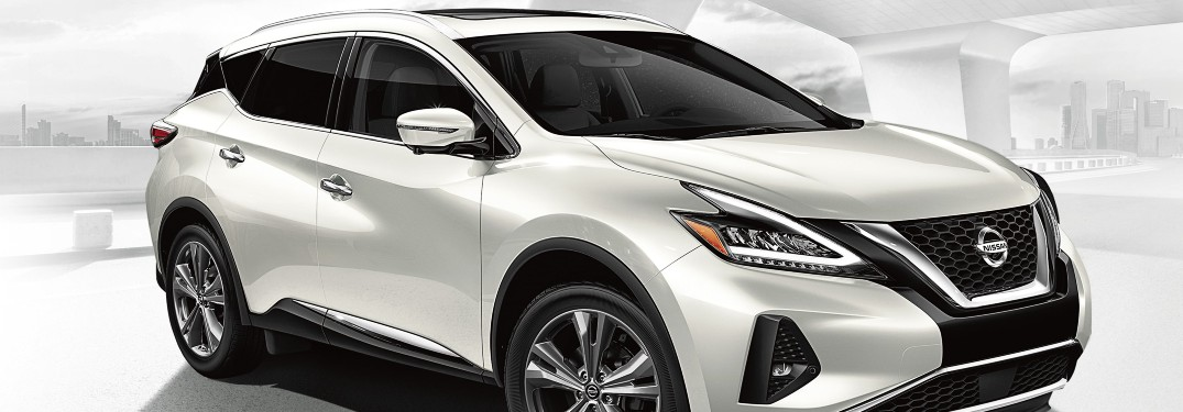 2020 Nissan Murano front and side profile