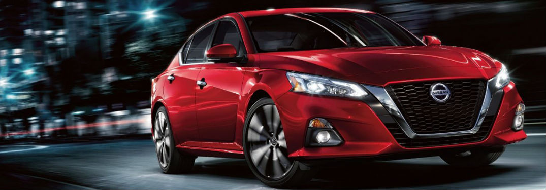 Nissan Safety Shield® 360 gives new 2020 Nissan Altima a long list of innovative features