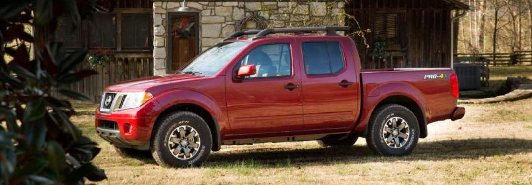 2020 Nissan Frontier available in 6 exterior paint color options