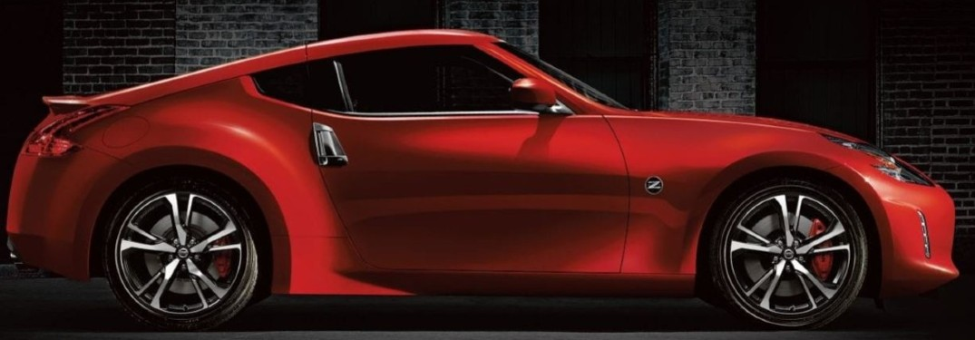 2020 Nissan 370Z Coupe side profile