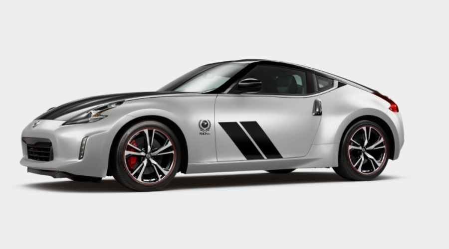 2020 Nissan 370Z Coupe Two Tone Brilliant Silver Metallic/Magnetic Black Pearl