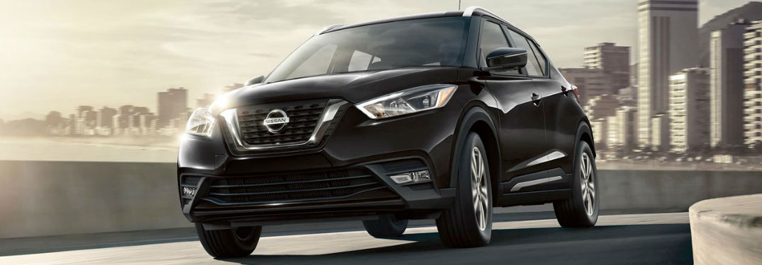2020 Nissan Kicks driving on a road