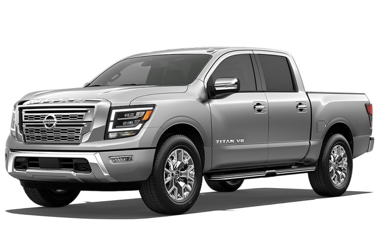 2020 Nissan TITAN Brilliant Silver Metallic