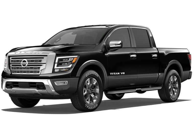 2020 Nissan TITAN Super Black/Gun Metallic