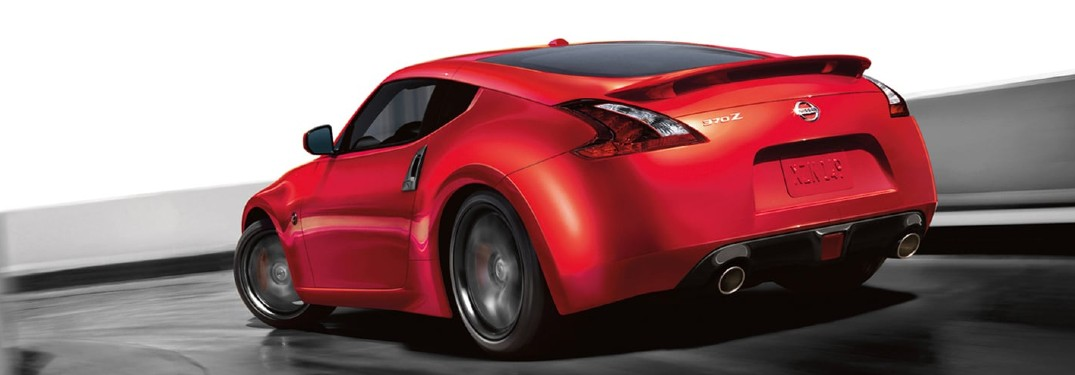 2020 Nissan 370Z driving on a road