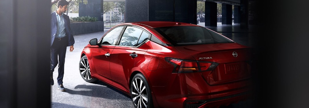 2020 Nissan Altima rear and side profile
