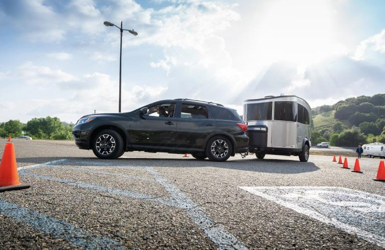 How Much Can the 2020 Nissan Pathfinder towing a trailer