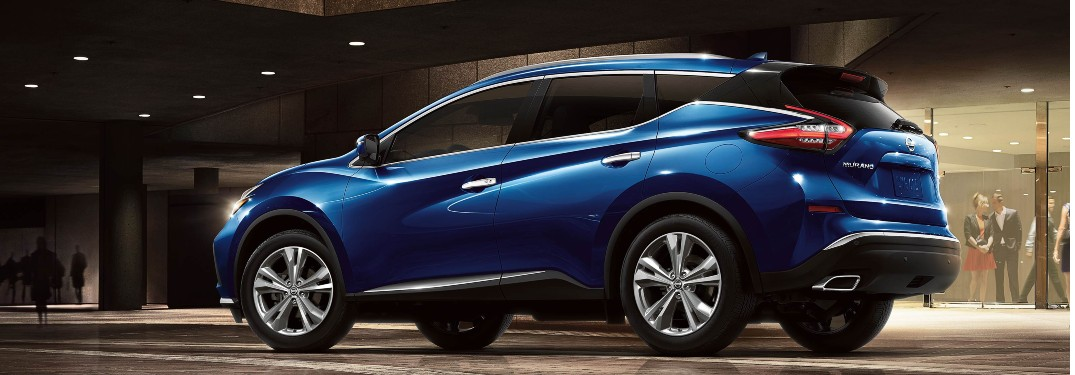Interior of 2020 Nissan Murano offers a long list of innovative technology features and luxurious comfort options