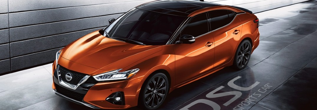 2020 Nissan Maxima front and side profile