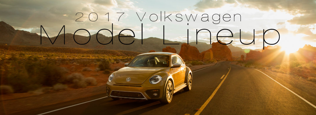 The 2017 Volkswagen model lineup is here and it's incredible
