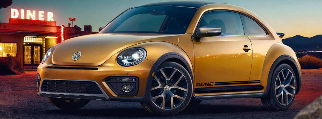 What is the Driving Range of the 2018 Volkswagen Beetle?