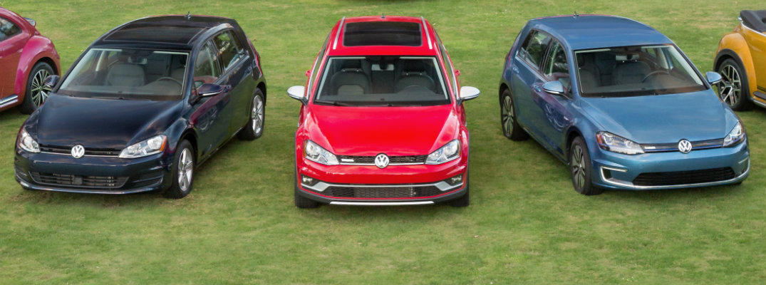 How Much Do Each of the 2018 Volkswagen Golf Models Cost?