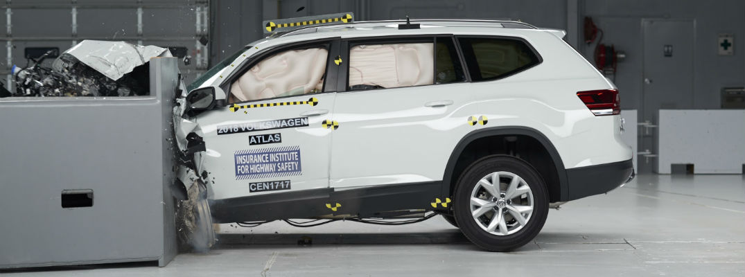 Safety scores for the 2018 Volkswagen Atlas
