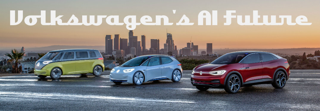 Volkswagen I.D. electric vehicle lineup (BUZZ, CROZZ, and I.D.)