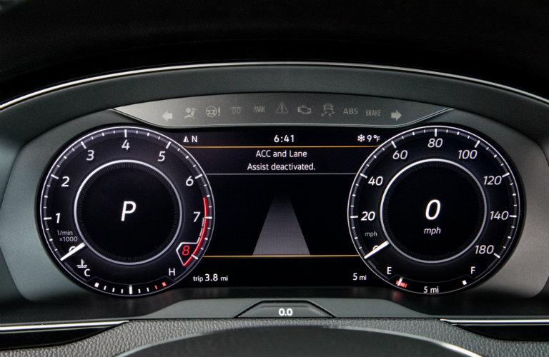 Driver display of the 2019 VW Arteon