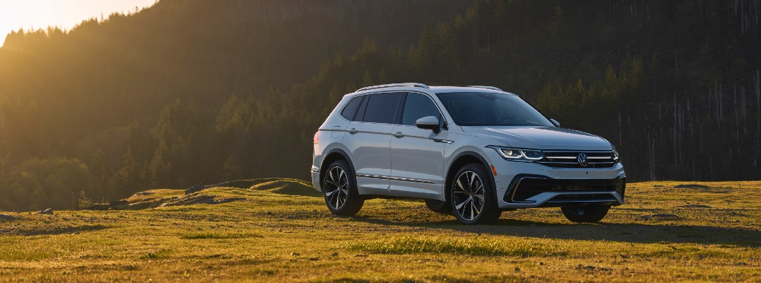 Get an early look at the revised and updated 2022 Volkswagen Tiguan
