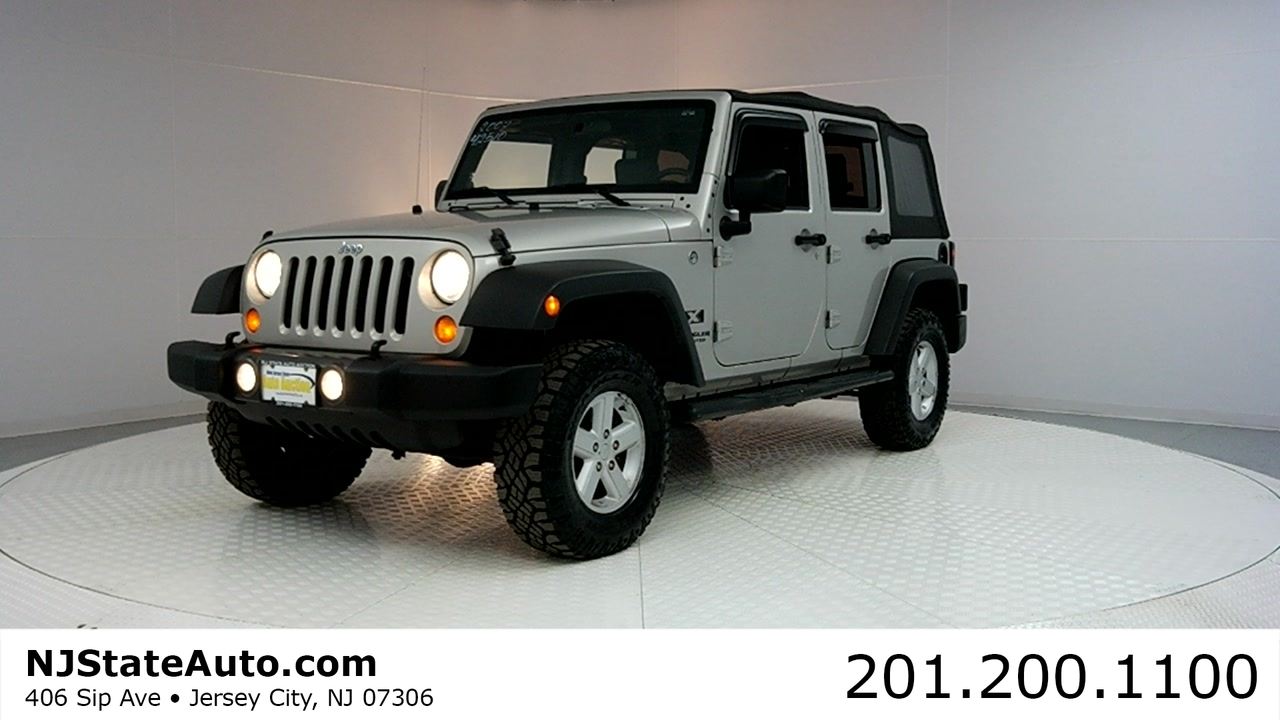 For Sale: 2007 Jeep Wrangler 4WD Unlimited X