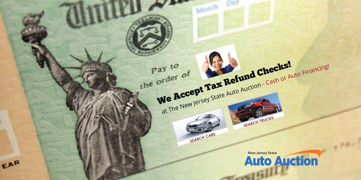 2018 NJ TAX REFUND SALE