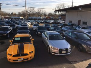 NJ AUTO AUCTION USED CAR LOT