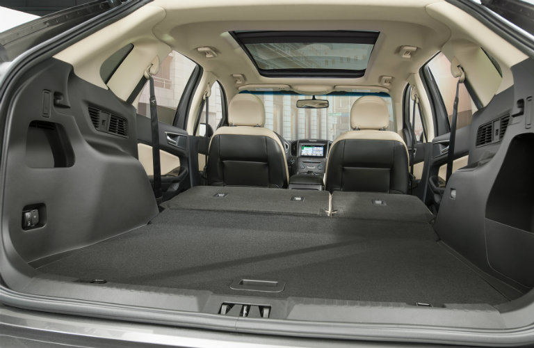 Ford Edge Rear Seats Folded Down