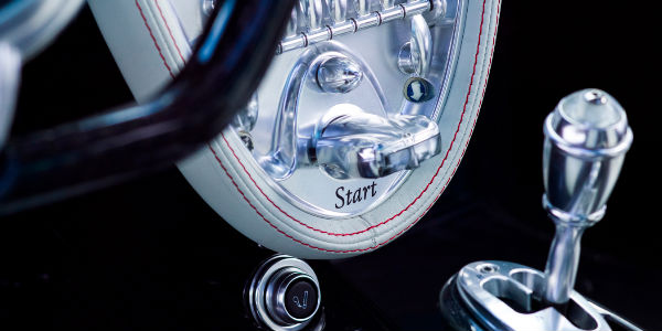 Start Button in the 2017 Pagani Huayra