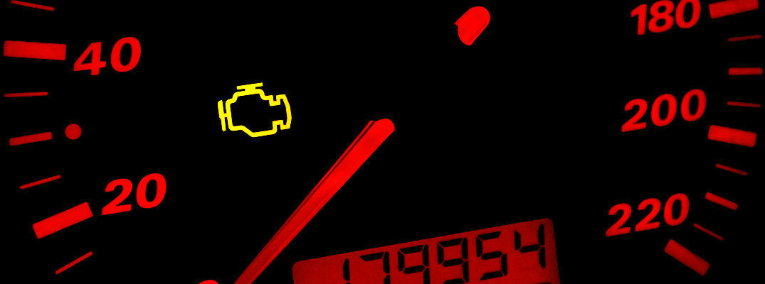 Yellow Check engine Light on speedometer
