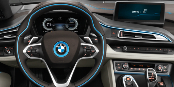 Efficiency and Performance of the 2017 BMW i8 Cockpit