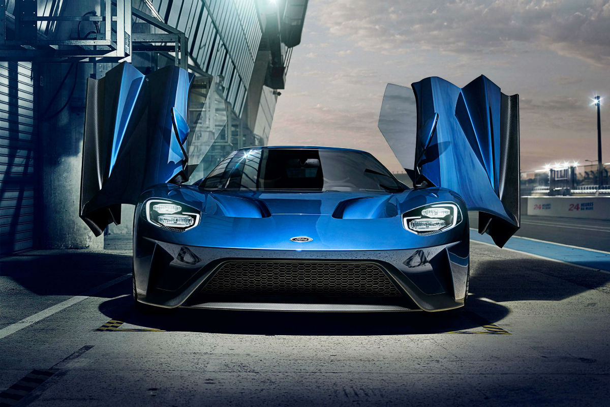 2017 Ford GT Exterior Front Fascia_o