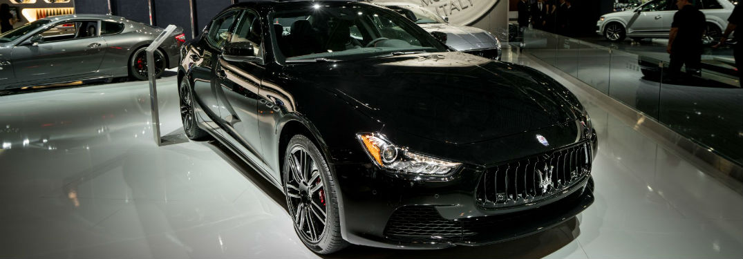 Maserati Ghibli Nerissimo Special Edition Trim Level