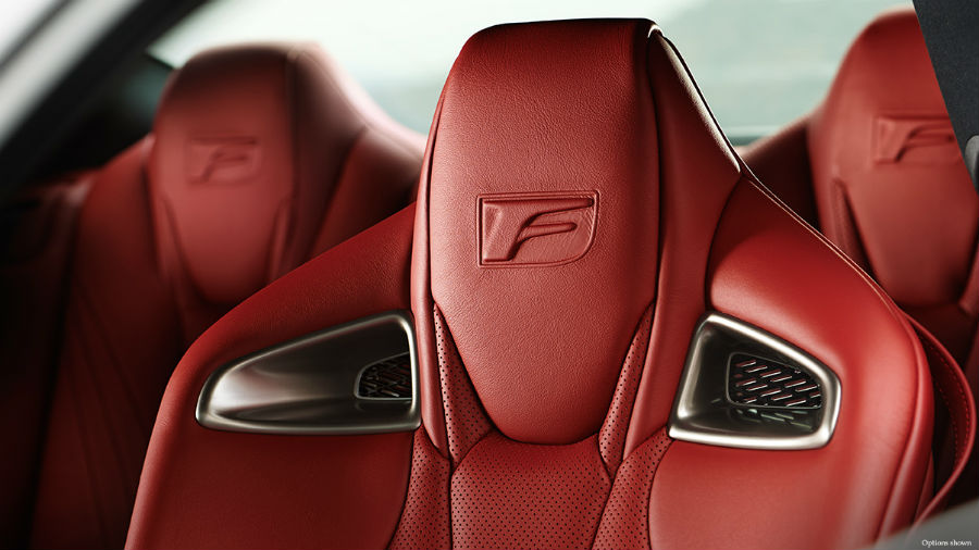 2015 Lexus RC F Interior Cabin Seats_o