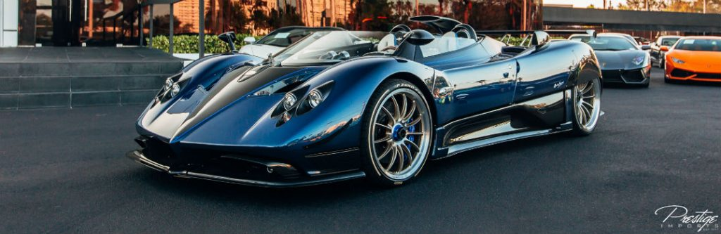 Toyota Dealer Miami >> Pagani Zonda HP Barchetta On Display North Miami Beach FL