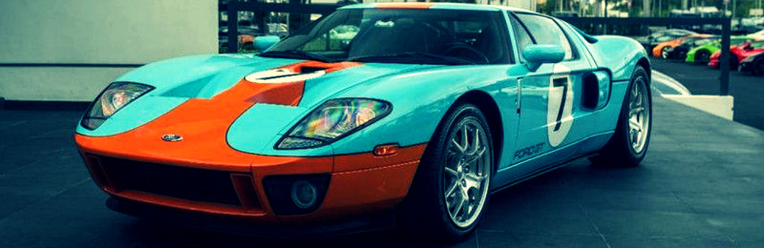 Ford Gt Heritage Edition Exterior Driver Side