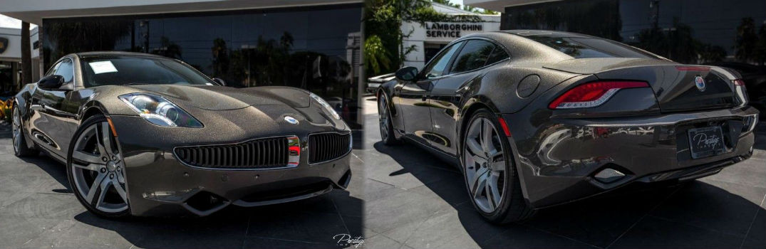 2012 Fisker Karma EcoSport Exterior Front and Rear Profile_d