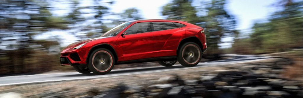 Upcoming Lamborghini Urus SSUV Concept Photo Gallery