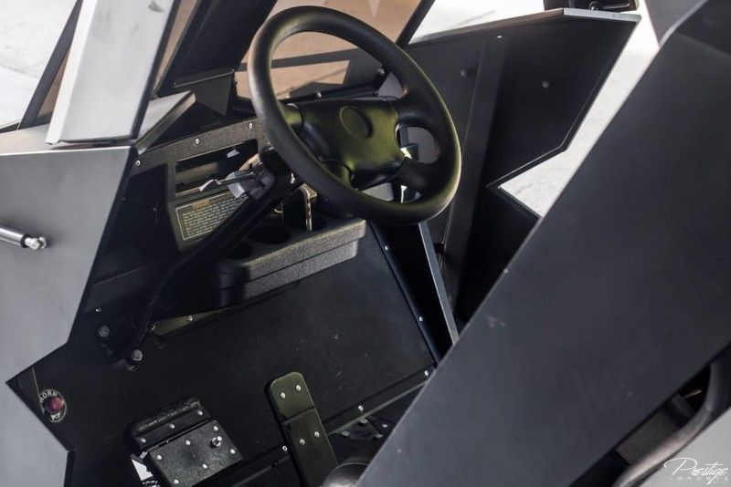 Tumbler Bat Cart Interior Cabin Dashboard