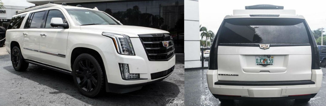 2015 Cadillac Escalade ESV Premium Limo For Sale North Miami Beach FL