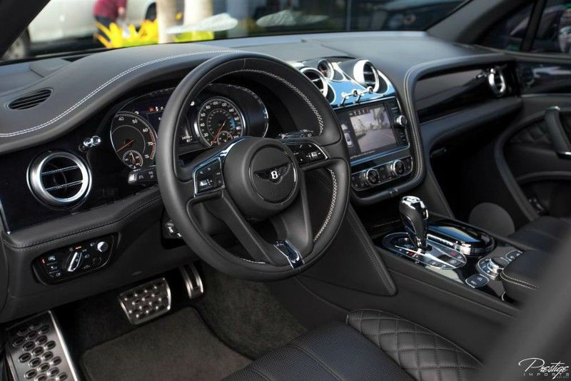 2017 Bentley Bentayga Interior Cabin Dashboard